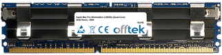 Mac Pro Workstation 2.66GHz (Quad-Core) (Intel Xeon) - 2006 8GB Kit (2x4GB Modules) - 240 Pin 1.8v DDR2 PC2-6400 ECC FB Dimm (Apple Approved)