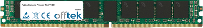 Primergy RX4770 M2 32GB Module - 288 Pin 1.2v DDR4 PC4-19200 ECC Registered Dimm (VLP)