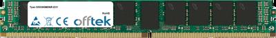 8GB Module - 288 Pin 1.2v DDR4 PC4-19200 ECC Registered Dimm (VLP)