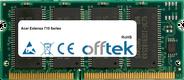 Extensa 710 Series 128MB Module - 144 Pin 3.3v PC66 SDRAM SoDimm