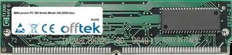 PC 300 Series Model 340 (6560-5xx) 64MB Kit (2x32MB Modules) - 72 Pin 5v EDO Non-Parity Simm