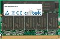 Vaio VGN-S170P12 512MB Module - 172 Pin 2.5v DDR333 Non-ECC MicroDimm