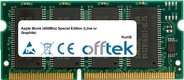 iBook (466Mhz) Special Edition (Lime or Graphite) 512MB Module - 144 Pin 3.3v PC133 SDRAM SoDimm