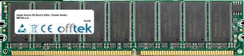 Xserve G5 (Dual 2.3Ghz - Cluster Node) - M9742LL/A 2GB Kit (2x1GB Modules) - 184 Pin 2.6v DDR400 ECC Dimm (Dual Rank)