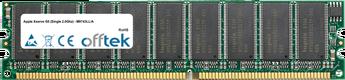 Xserve G5 (Single 2.0Ghz) - M9743LL/A 2GB Kit (2x1GB Modules) - 184 Pin 2.6v DDR400 ECC Dimm (Dual Rank)