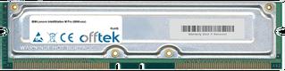 IntelliStation M Pro (6866-xxx) 1GB Kit (2x512MB Modules) - 184 Pin 2.5v 800Mhz ECC RDRAM Rimm