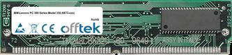 PC 300 Series Model 330 (6873-xxx) 64MB Kit (2x32MB Modules) - 72 Pin 5v EDO Non-Parity Simm