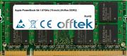 PowerBook G4 1.67GHz (15-inch) (Hi-Res DDR2) 1GB Module - 200 Pin 1.8v DDR2 PC2-4200 SoDimm