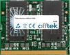 LifeBook P2046 128MB Module - 144 Pin 3.3v PC133 MicroDimm