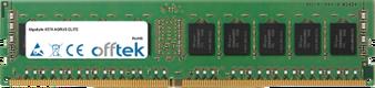 X570 AORUS ELITE 16GB Module - 288 Pin 1.2v DDR4 PC4-21300 ECC Dimm