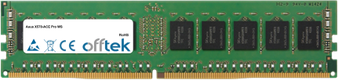 X570-ACE Pro WS 16GB Module - 288 Pin 1.2v DDR4 PC4-21300 ECC Dimm