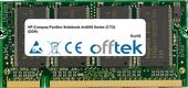 Pavilion Notebook dv4000 Series (CTO) (DDR) 1GB Module - 200 Pin 2.5v DDR PC333 SoDimm