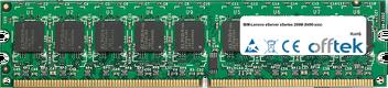 eServer xSeries 206M (8490-xxx) 4GB Kit (2x2GB Modules) - 240 Pin 1.8v DDR2 PC2-5300 ECC Dimm (Dual Rank)
