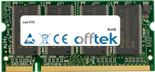 CT2 1GB Module - 200 Pin 2.5v DDR PC333 SoDimm