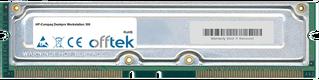 Deskpro Workstation 300 1GB Kit (2x512MB Modules) - 184 Pin 2.5v 800Mhz ECC RDRAM Rimm