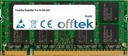 Satellite Pro A100-240 1GB Module - 200 Pin 1.8v DDR2 PC2-4200 SoDimm