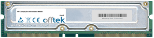 Evo Workstation W6000 1GB Kit (2x512MB Modules) - 184 Pin 2.5v 800Mhz ECC RDRAM Rimm