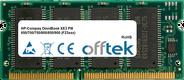 OmniBook XE3 PIII 650/700/750/800/850/900 (F23xxx) 128MB Module - 144 Pin 3.3v PC100 SDRAM SoDimm