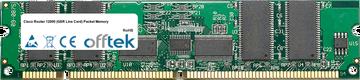 Router 12000 (GSR Line Card) Packet Memory 512MB Kit (4x128MB Modules) - 168 Pin 3.3v PC133 ECC Registered SDRAM Dimm