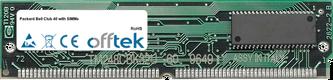 Club 40 with SIMMs 128MB Kit (2x64MB Modules) - 72 Pin 5v EDO Non-Parity Simm