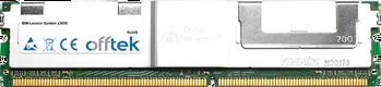 System x3650 8GB Kit (2x4GB Modules) - 240 Pin 1.8v DDR2 PC2-5300 ECC FB Dimm