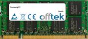 X1 1GB Module - 200 Pin 1.8v DDR2 PC2-4200 SoDimm