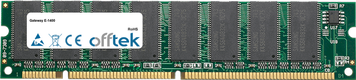 E-1400 256MB Module - 168 Pin 3.3v PC100 SDRAM Dimm
