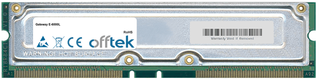 E-6000L 1GB Kit (2x512MB Modules) - 184 Pin 2.5v 800Mhz ECC RDRAM Rimm