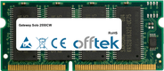 Solo 2550CW 128MB Module - 144 Pin 3.3v PC100 SDRAM SoDimm