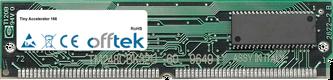 Accelerator 166 128MB Kit (2x64MB Modules) - 72 Pin 5v EDO Non-Parity Simm