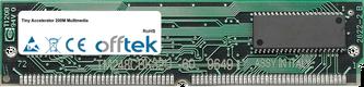 Accelerator 200M Multimedia 128MB Kit (2x64MB Modules) - 72 Pin 5v EDO Non-Parity Simm