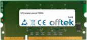 LaserJet P3005n 256MB Module - 144 Pin 1.8v DDR2 PC2-3200 SoDimm