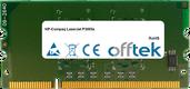 LaserJet P3005x 256MB Module - 144 Pin 1.8v DDR2 PC2-3200 SoDimm