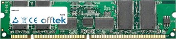SAI2 512MB Module - 168 Pin 3.3v PC133 ECC Registered SDRAM Dimm