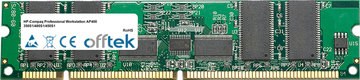 Professional Workstation AP400 350S1/400S1/450S1 256MB Module - 168 Pin 3.3v PC100 ECC Registered SDRAM Dimm