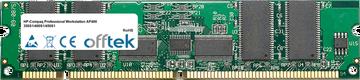 Professional Workstation AP400 350S1/400S1/450S1 256MB Module - 168 Pin 3.3v PC100 ECC Registered SDRAM Dimm