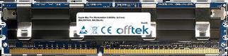 Mac Pro Workstation 2.66GHz  (4-Core) (MA356TA/A, MA356J/A) 4GB Kit (2x2GB Modules) - 240 Pin 1.8v DDR2 PC2-5300 ECC FB Dimm (Apple Approved)