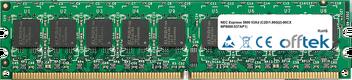 Express 5800 53Xd (C2D/1.86G(2)-80CX NP8000-537AP1) 1GB Module - 240 Pin 1.8v DDR2 PC2-5300 ECC Dimm (Dual Rank)