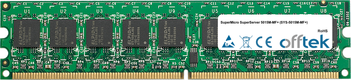 SuperServer 5015M-MF+ (SYS-5015M-MF+) 2GB Module - 240 Pin 1.8v DDR2 PC2-4200 ECC Dimm (Dual Rank)