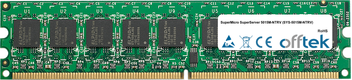 SuperServer 5015M-NTRV (SYS-5015M-NTRV) 1GB Module - 240 Pin 1.8v DDR2 PC2-5300 ECC Dimm (Dual Rank)