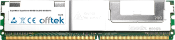 SuperServer 6015B-UV (SYS-6015B-UV) 8GB Kit (2x4GB Modules) - 240 Pin 1.8v DDR2 PC2-4200 ECC FB Dimm