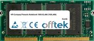Presario Notebook 1600-XL466 (16XL466) 128MB Module - 144 Pin 3.3v PC100 SDRAM SoDimm