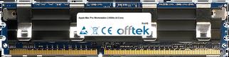 Mac Pro Workstation 2.8GHz (4-Core) 8GB Kit (2x4GB Modules) - 240 Pin 1.8v DDR2 PC2-6400 ECC FB Dimm (Apple Approved)