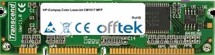 Color LaserJet CM1017 MFP 128MB Module - 100 Pin 3.3v SDRAM PC100 SoDimm