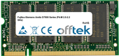 Amilo D7800 Series (P4-M 2.0-2.2 GHz) 512MB Module - 200 Pin 2.5v DDR PC266 SoDimm