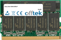 Vaio VGN-S250LP 512MB Module - 172 Pin 2.5v DDR333 Non-ECC MicroDimm