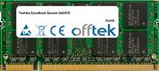 DynaBook Qosmio G40/97E 256MB Module - 200 Pin 1.8v DDR2 PC2-5300 SoDimm