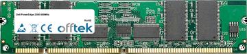 PowerEdge 2300 400MHz 256MB Module - 168 Pin 3.3v PC100 ECC Registered SDRAM Dimm