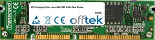 Color LaserJet 2820 All-In-One Series 128MB Module - 100 Pin 3.3v SDRAM PC133 SoDimm