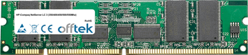 NetServer LC 3 (350/400/450/500/550Mhz) 256MB Module - 168 Pin 3.3v PC100 ECC Registered SDRAM Dimm